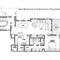 Grand View 1 bedroom floor plan