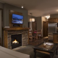 Teton Mountain Lodge and Spa alpine studio with murphy queen bed