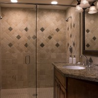 Teton Mountain Lodge and Spa bathroom with walk-in shower