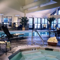 Teton Mountain Lodge and Spa indoor pool and hot tub