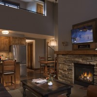 Teton Mountain Lodge and Spa two bedroom bi-level suite