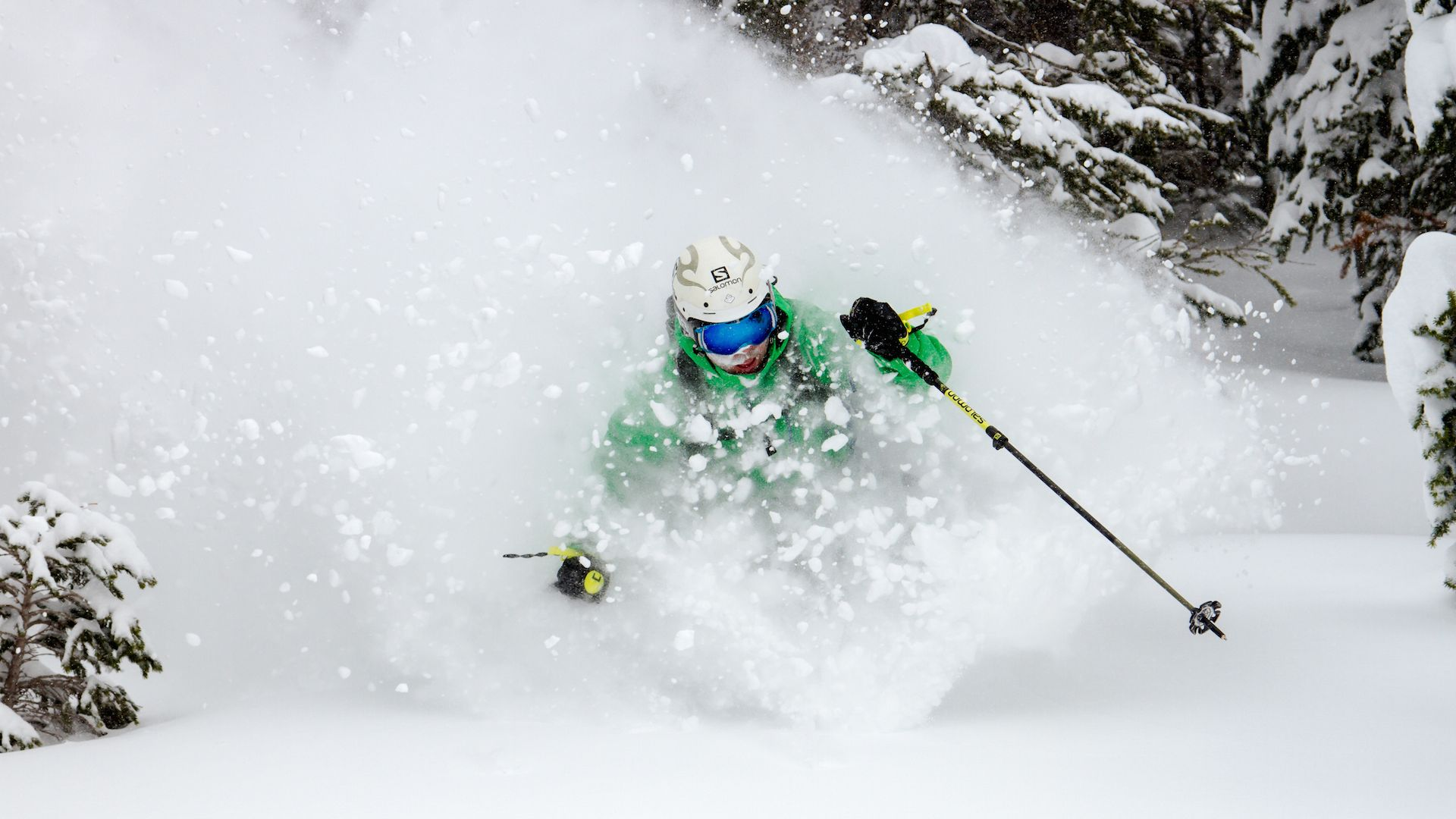 Deep powder. Legendary Terrain.