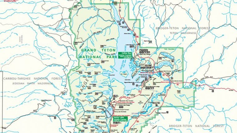 Map Of Jackson Hole Wyoming And Surrounding Area Jackson Hole Wyoming Information   Jackson Hole Central Reservations