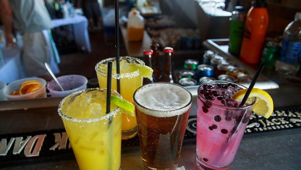 Margaritas at The Deck
