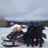 Togwotee pass snowmobiling