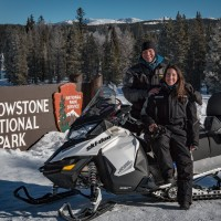 Yellowstone snowmobile tour