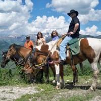 Mill Iron Ranch Horseback Rides