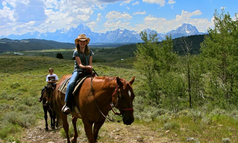 Heart Six Ranch Horseback Rides - Jackson Hole WY Central ...