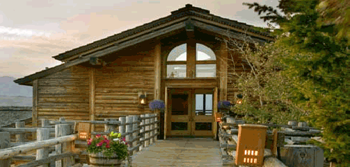 Granary at Spring Creek Ranch in Wyoming
