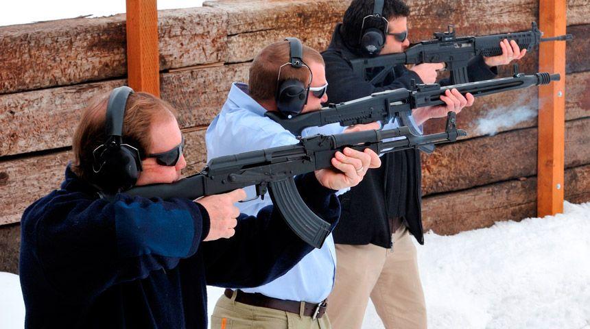 Jackson Hole Gun Shooting