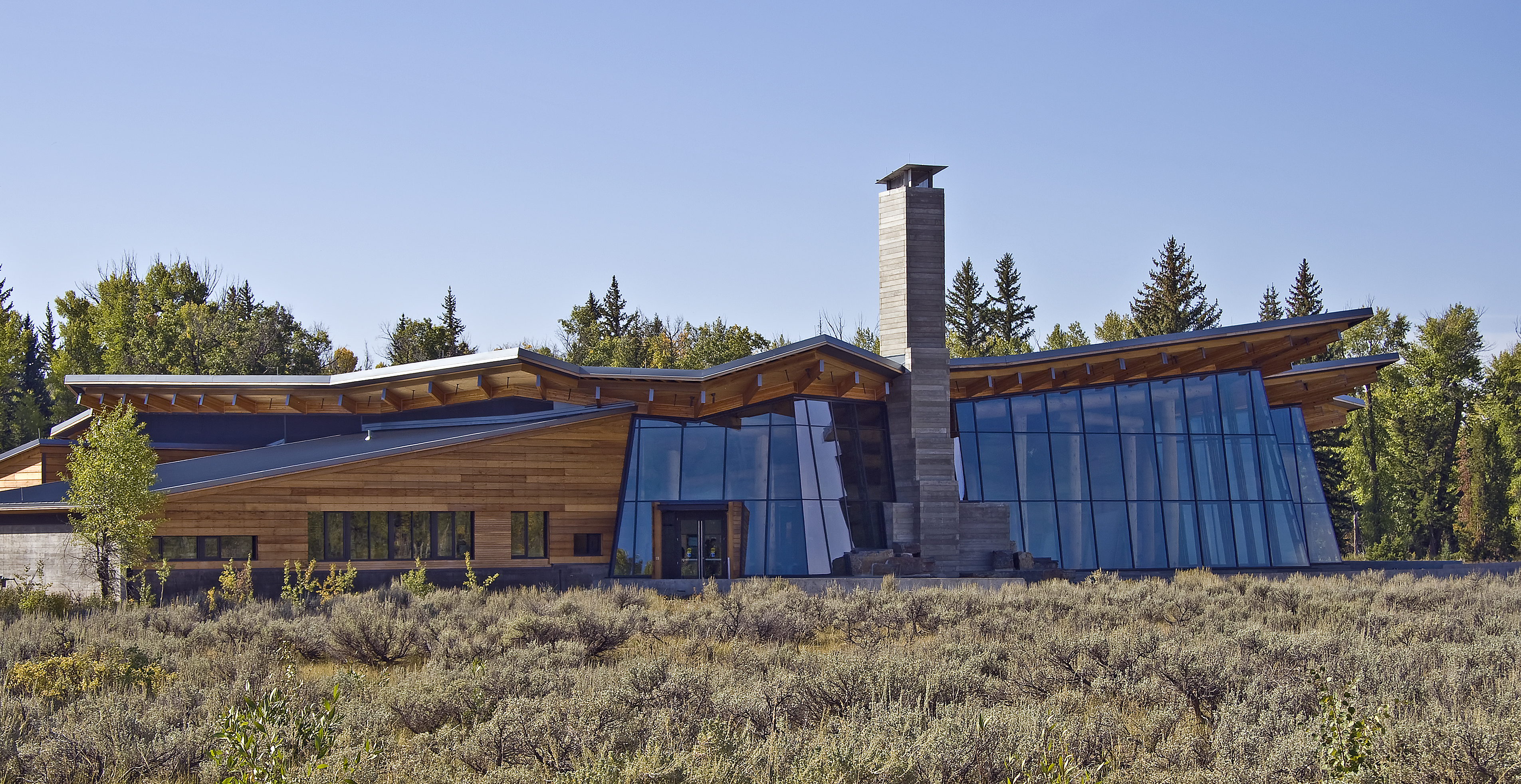 Craig Thomas Visitor Center in Grand Teton