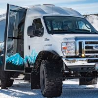 Scenic Snow Safaris Snowcoach Tour