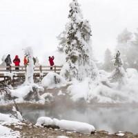 Yellowstone-thermal pool