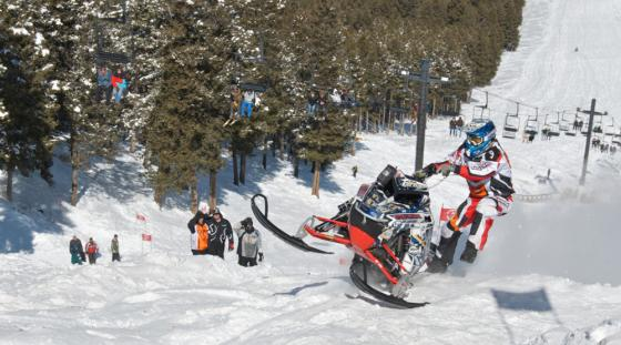 2021 World Championship Snowmobile Hill Climb Jackson Hole Wyoming