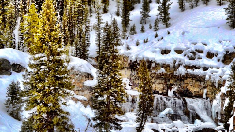 Hang On Tight: A Snowmobiling Tour to Granite Hot Springs in Jackson