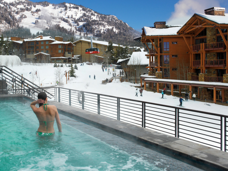 Hotel terra 4th night free for winter jackson hole wy for Best winter vacation deals