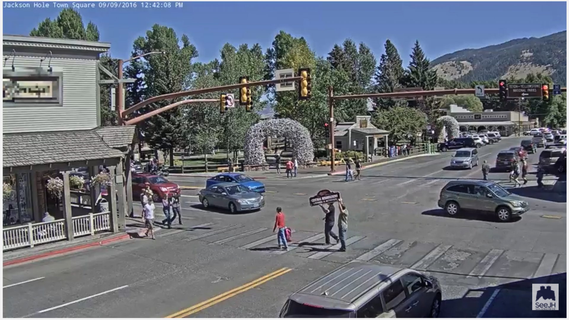 Have You Seen The Jackson Hole Town Square Web Cam