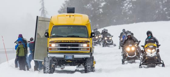 Yellowstone Opens To Snowmobiles Amp Snowcoaches Events Jackson Hole Wy Central Reservations