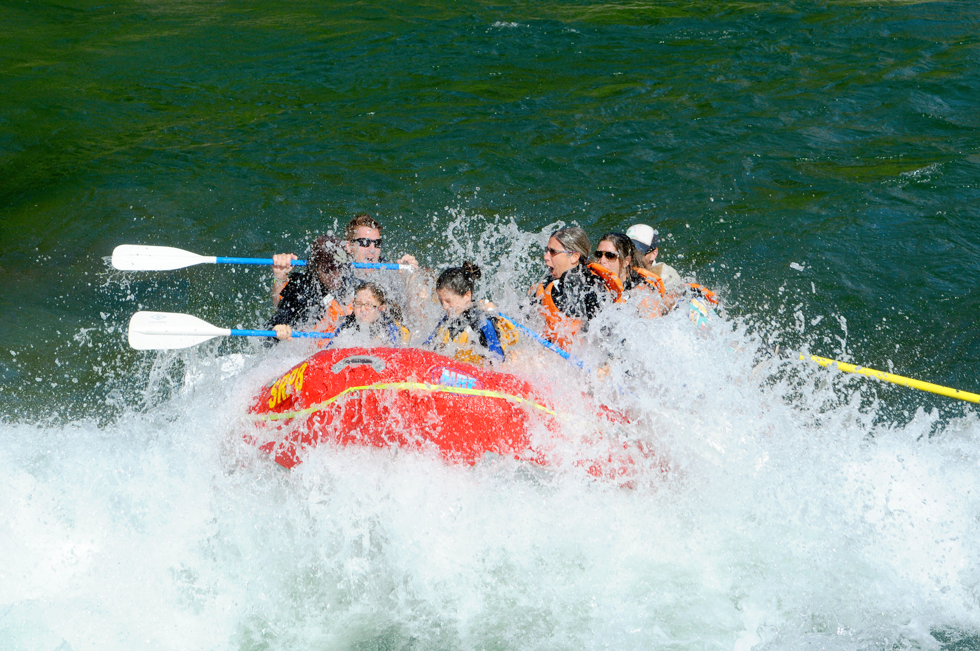 rafting in jackson hole