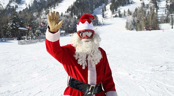 ski with Santa at JH Mountain Resort