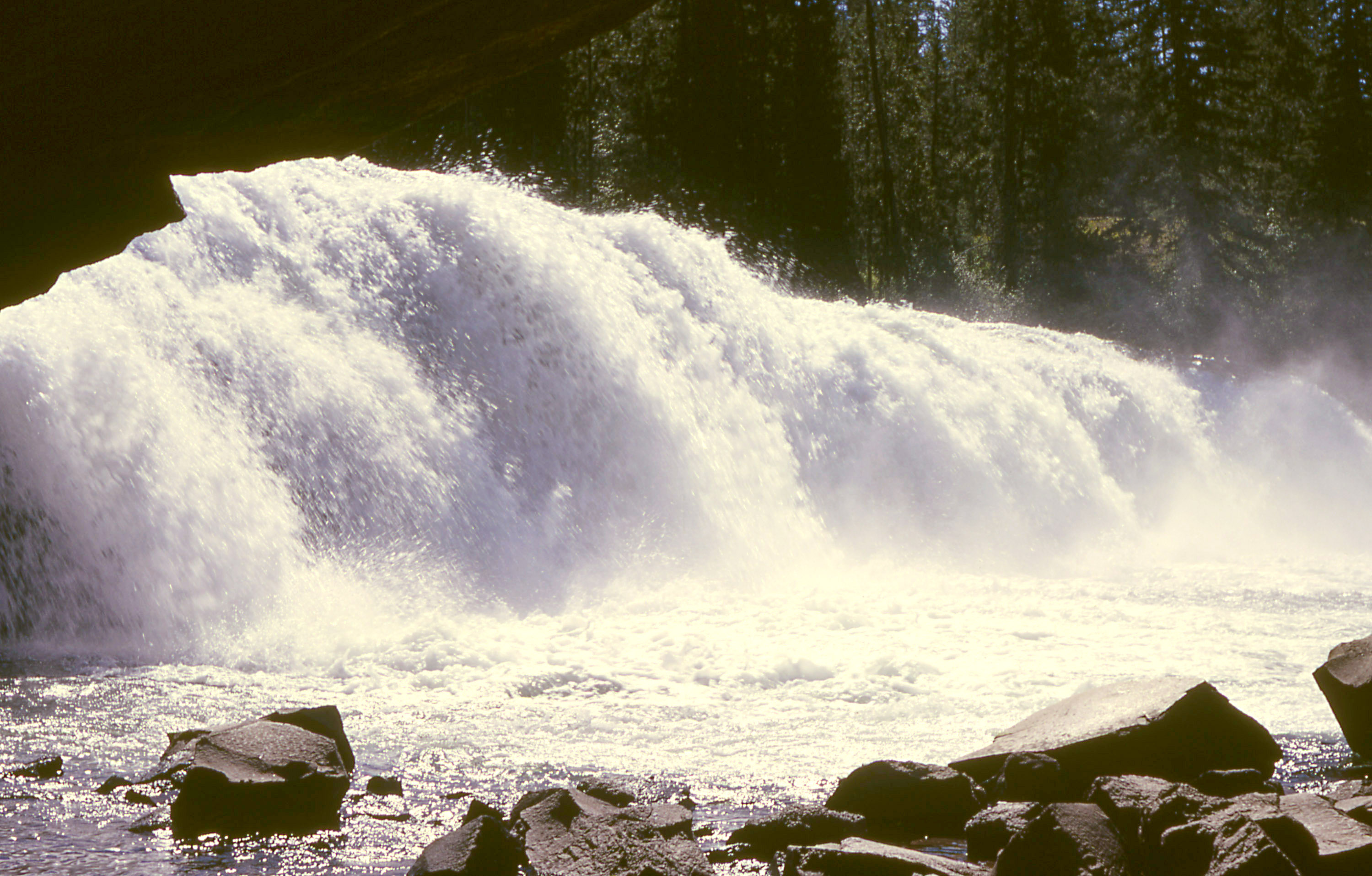 Cave Falls YNP