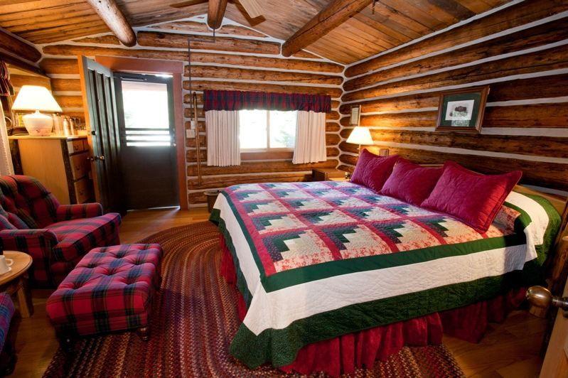 Charming ... Jenny Lake Lodge Cabin Interior 1 ... Part 13