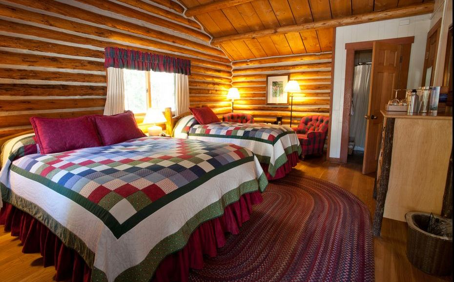 ... Jenny Lake Lodge Cabin Interior ... Part 72