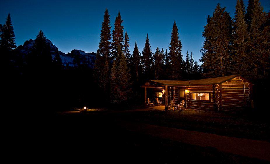 ... Jenny Lake Lodge Exterior ... Part 54
