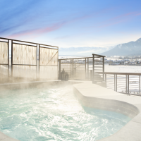 Hotel Terra Jackson Hole Chill Spa rooftop jacuzzi