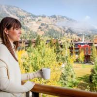 Hotel Terra Jackson Hole balcony