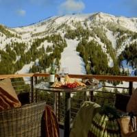 Hotel Terra Jackson Hole balcony view