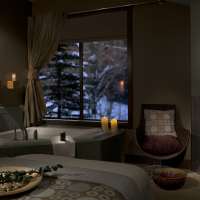 Hotel Terra Jackson Hole Chill Spa treatment room