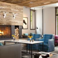 Hotel Terra Jackson Hole lobby remodel