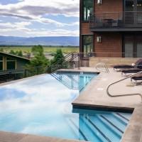 Hotel Terra Jackson Hole pool