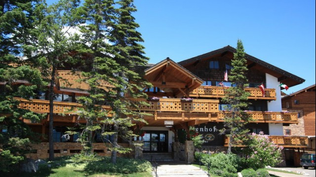 The Alpenhof Lodge In Teton Village Is A Bavarian Inspired Property. It  Sits At The Base Of Jackson Hole Mountain Resort And Is Only A Short Walk  To Lifts ...