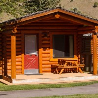 Cowboy village resort cabin