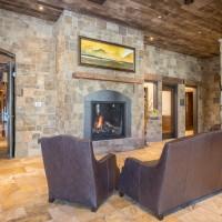 Lobby fireplace 1